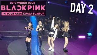 My BLACKPINK Concert Vlog // In Your Area KL (Day 2)