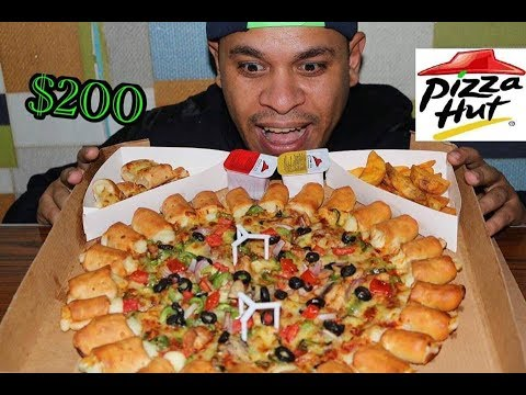 #تحدي اكل اغلي بيتزا فى العالم200$!! thumbnail