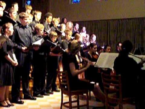 Trinity School at Greenlawn Chamber Choir Concert, 4-30-09 - 05/01/2009