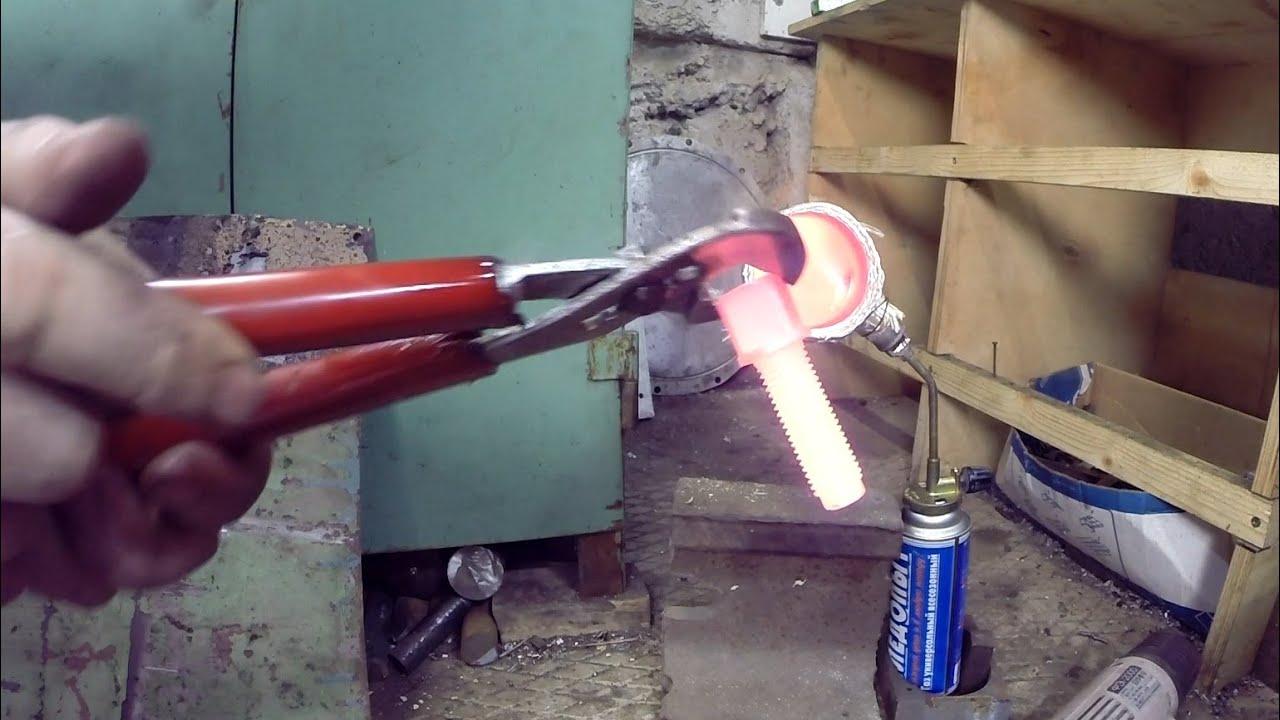 Горелка для ковки металла своими руками
