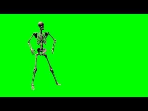 skeleton dancing - greenscreen effects thumbnail