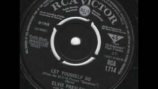 Watch Elvis Presley Let Yourself Go video