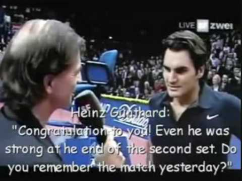 Roger Federer - some of his great moments.. Video