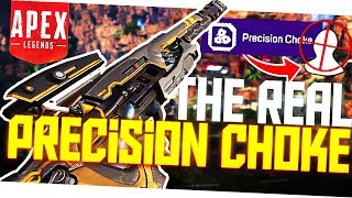 "Why You've Been Using ""Precision Choke"" WRONG! - PS4 Pro Apex Legends"