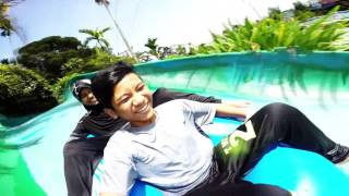 Bukit merah Laketown Waterpark via GoPro Hero 4 Black Edition