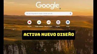 COMO ACTUALIZAR GOOGLE CHROME 2019 Y ACTIVAR NUEVO DISEÑO DE GOOGLE CHROME