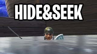 HIDE & SEEK MINI-GAME!  - Fortnite: Battle Royale Playground (Nederlands)