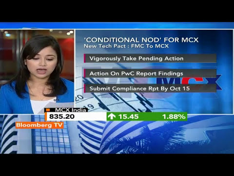 Market Pulse: FMC Gives 'Conditional Nod' To MCX