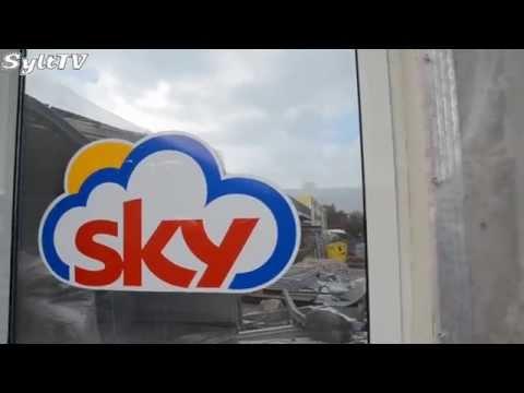 Der SKY Markt in Tinnum wird abgerissen