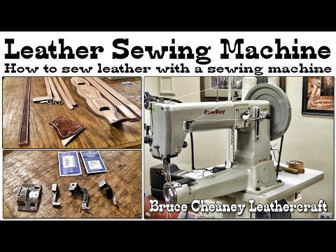 Leather Working: leather sewing machine review - saddle making