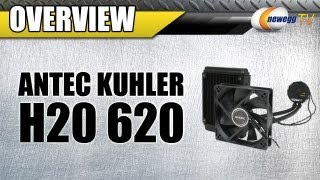 Newegg TV_ Antec Kuhler H2O 620 Liquid Cooling System Overview