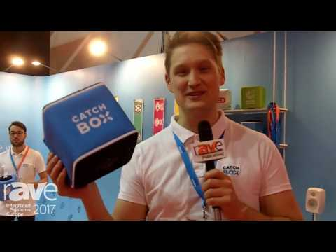ISE 2017: CatchBox Explains its Tossable Microphone for Increased Audience Engagment