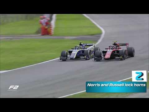 Top 5 Formula 2 Moments | 2018 Italian Grand Prix