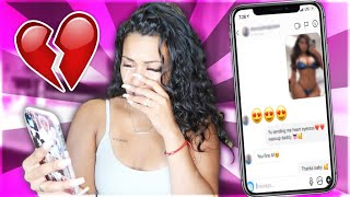 CATFISHING My Husband To See If He CHEATS...LEADS TO REAL BREAKUP????💔