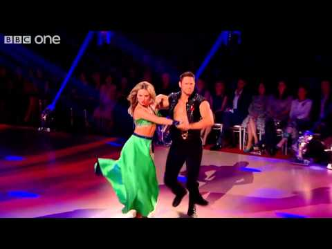 "Ola and Steve dance the Paso Doble to ""Use Somebody"" by Kings of Leon. The dance scored a total of 28 with the judges."