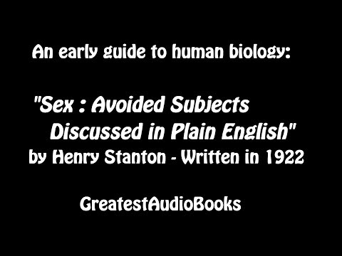 Sex By Henry Stanton - Full Audio Book | Greatest Audio Books video