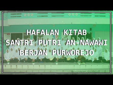 HAFALAN KITAB (santri Putri An-Nawawi Berjan Purworejo) Al Fiyah Ibnu Malik