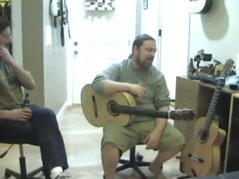 Flamenco-Lessons Webcast 4-24-09 Glenn Canin part 2
