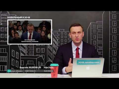Навальный про свою поездку в ЕСПЧ