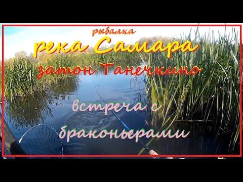 Рыбалка на щуку, р Самара, затон Танечкино