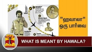 What is meant by Hawala? | Thanthi Tv