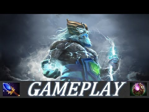 SUPPORT OR CARRY?! | Zeus Gameplay Commentary Ranked Dota 2