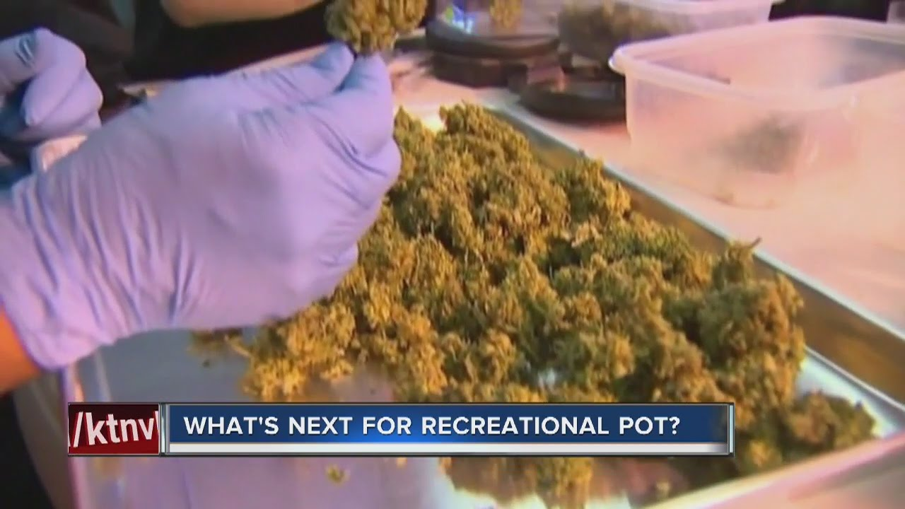 What's next after recreational marijuana legalized in Nevada?