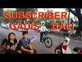 Goweser Cewe Bali dan Sepeda Polygon Xtrada 5 di Majuroyal