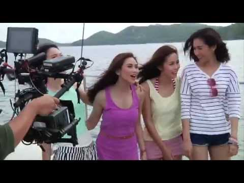 Sarah Geronimo's Tvc Shoot In Thailand video