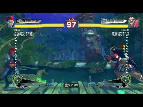 volug (Viper) VS vorudo (Balrog) Super Street Fighter IV Arcade Edition 2012 720p HD