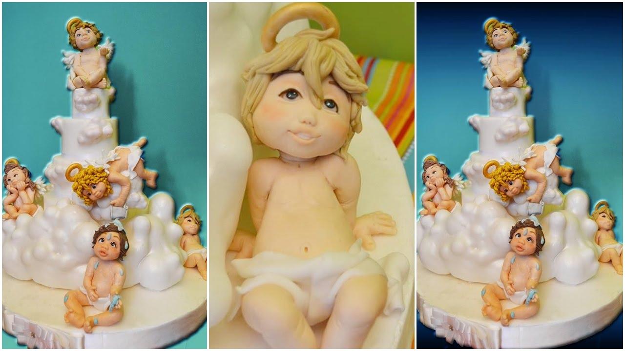 Angels Baptism Cake