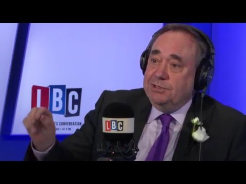 Alex Salmond - Wednesday 18th May