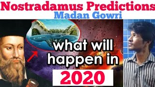 Nostradamus | 2020 Predictions | Tamil | Madan Gowri | MG