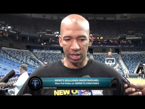 2/26/2013 Monty Williams Shootaround Preview