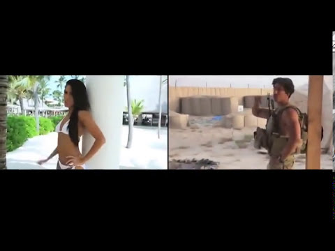 call me maybe - porristas vs militares