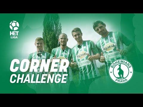 Corner Challenge s hráči Bohemians Praha 1905!