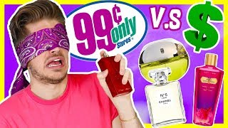 EXPENSIVE vs. DOLLAR STORE PERFUME! + GIVEAWAY