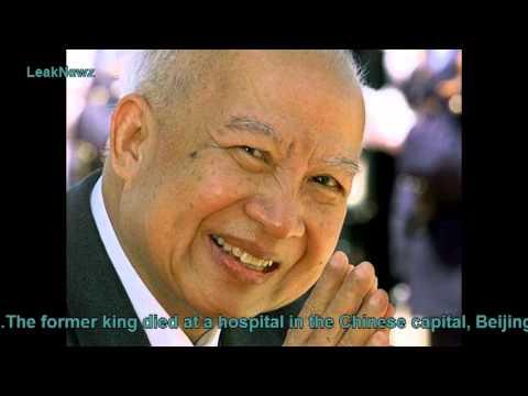 Cambodia former king Norodom Sihanouk dies aged 89