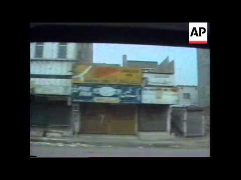 PAKISTAN: KARACHI: 2 DAY STRIKE VIRTUALLY SHUTS DOWN CITY