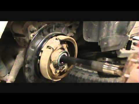 2002 trail blazer back brake issues