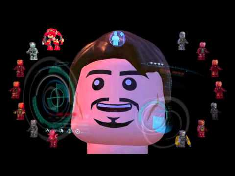 Download Lego marvel avengers le armature di iron man Mp4 baru