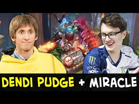Dendi Pudge AND Miracle — dream team on FPL