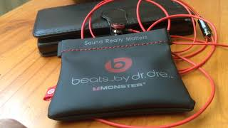 Beats ear bud headphones by dr dre