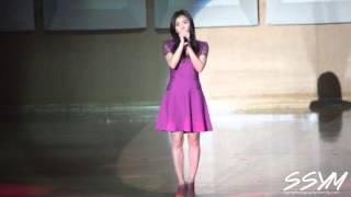 150110 Ha Ji Won(하지원) sings