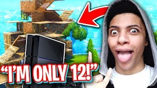 12 Year Old Builds Faster Than Myth On Console Best Fortnite Console Builder