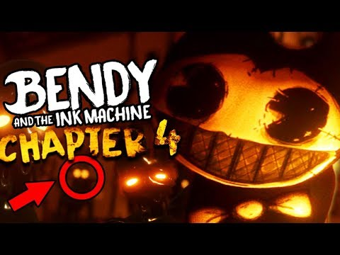 WHAT DID ALICE ANGEL DO TO BENDY?! | Bendy and the Ink Machine CHAPTER 4 (Part 1)