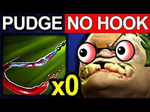 PUDGE NO HOOK - DOTA 2 PATCH 7.06 NEW META PRO GAMEPLAY