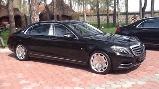Mercedes-Maybach S600 в Украине