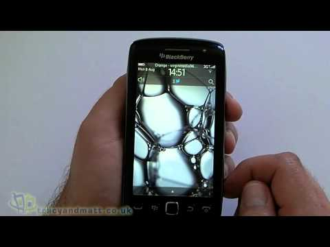 BlackBerry Torch 9860 hands-on video