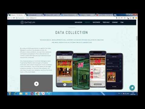 Dataeum - платформа по сбору всех физических данных на основе блокчейн